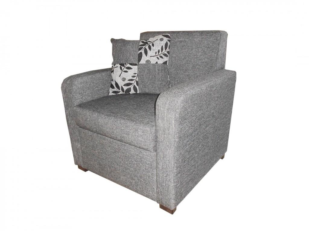 Fiksna fotelja, sedeći deo izrađen od sunđera, najveće gustine. Izrada po meri.