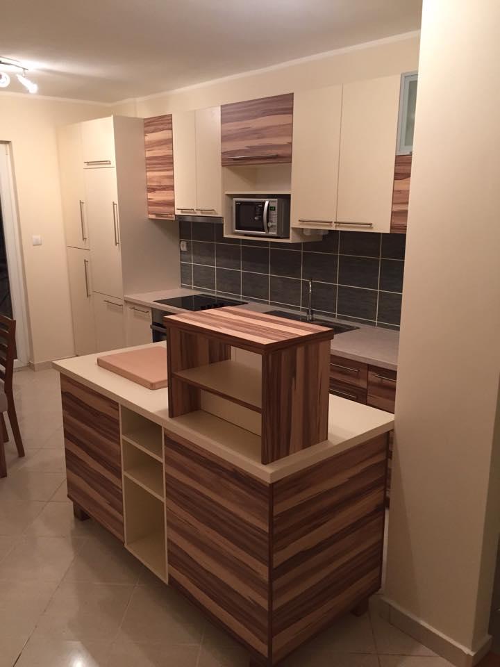 Kuhinja sa šankom-opremanje stana