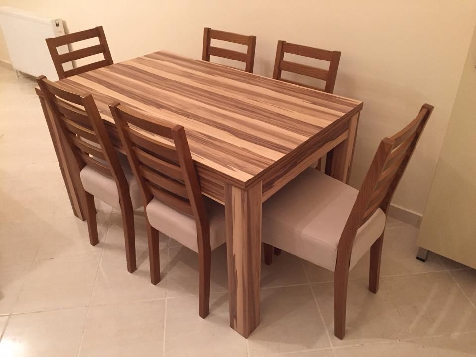 Trpezarisjki sto i stolice-opremanje stana