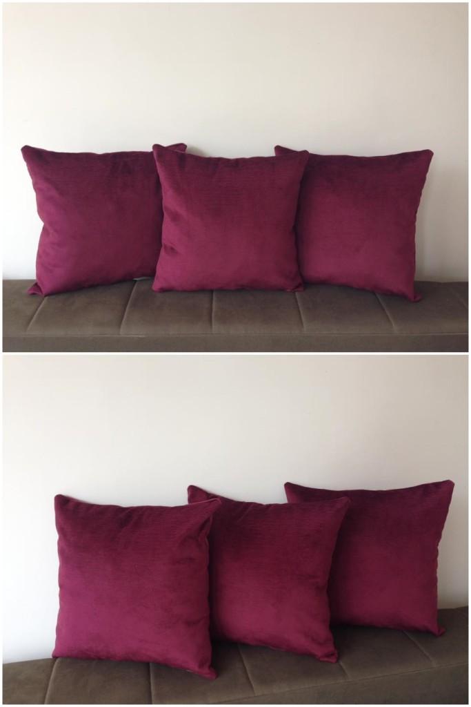 Komplet 3 dekorativna jastuka.    Dimenzije 40x40cm.    Punjeni pahuljama sundjera.    Svaka navlaka ima rajsferslus tako da moze da se skida i pere.    Veoma kvalitetni i jaki materijali koji se koriste za tapaciranje nameštaja.